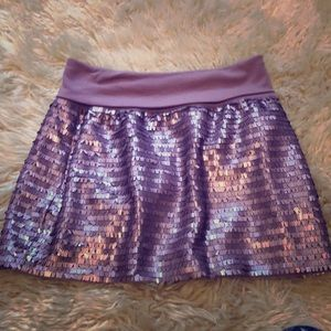 Pretty sequence like Bebe skirt New